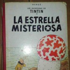 Cómics: HERGÉ TINTIN LA ESTRELLA MISTERIOSA. JUVENTUD. 1970 5ª EDICION. Lote 162184670