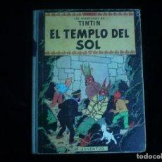 Cómics: LAS AVENTURAS DE TINTIN JUVENTUD EL TEMPLO DEL SOL HERGE SEGUNDA EDICION 1961. Lote 162229154