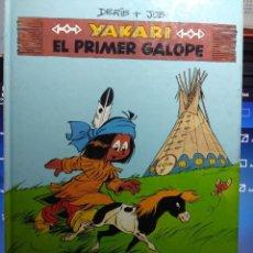Cómics: YAKARI : EL PRIMER GALOPE ( EN MUY BUEN ESTADO ) EDITORIAL JUVENTUD, 1993. Lote 162317654