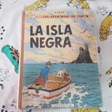Cómics: LIBRO TINTÍN LA ISLA NEGRA, 3ª EDICIÓN CASTELLANO. MUY BUEN ESTADO.. Lote 162353806