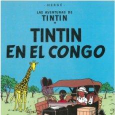 Cómics: TINTIN EN EL CONGO. JUVENTUD. C-35. Lote 162715170