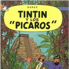 Cómics: TINTIN Y LOS PICAROS. JUVENTUD. C-35. Lote 162715222