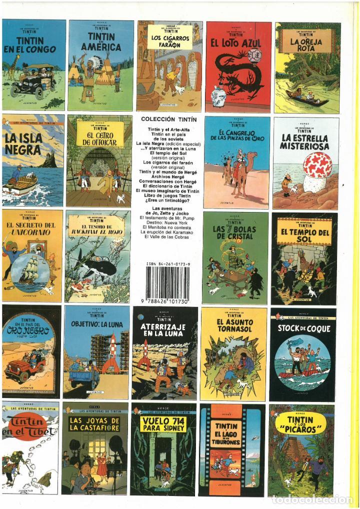 Cómics: TINTIN Y LOS PICAROS. JUVENTUD. C-35 - Foto 2 - 162715222