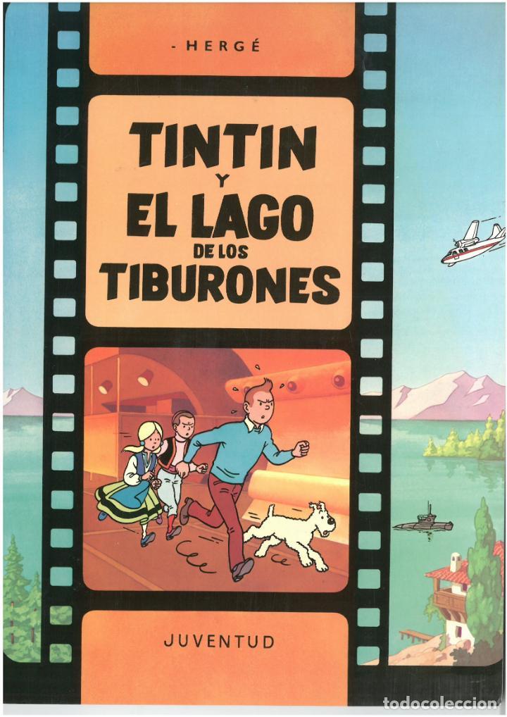 TINTIN Y EL LAGO DE LOS TIBURONES. JUVENTUD. TAPA BLANDA. C-35 (Tebeos y Comics - Juventud - Otros)