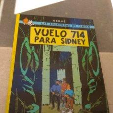 Cómics: LAS AVENTURAS DE TINTÍN - VUELO 714 PARA SIDNEY - EDITORIAL JUVENTUD - 1990 -. Lote 163050937