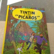 Cómics: TINTÍN Y LOS PICAROS - EDITORIAL JUVENTUD - 1989 -. Lote 163051337