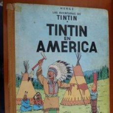 Cómics: TINTIN EN AMERICA LAS AVENTURAS DE TINTIN ED JUVENTUD 1º PRIMERA EDICION 1968. Lote 163081030