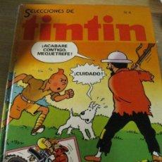 Cómics: SELECCIONES DE TINTIN Nº 4 ED BRUGUERA . AÑO 1982 Nº 16 - 18 -19-20- REVISTA QUINZENAL .ROTURA LOMO. Lote 294145718