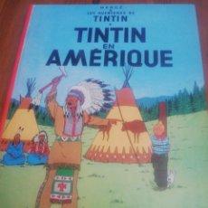 Cómics: TINTIN EN AMERIQUE. CASTERMAN. FRANCÉS. . Lote 164046902
