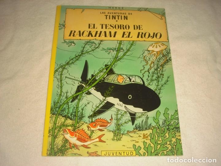 TINTIN, EL TESORO DE RACKHAM EL ROJO 2003. (Tebeos y Comics - Juventud - Tintín)