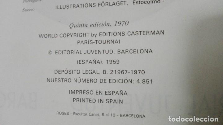 Cómics: 1003L - LAS AVENTURAS DE TINTIN ATERRIZAJE EN LA LUNA HERGÉ EDITORIAL JUVENTUD - Foto 7 - 23377834