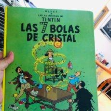 Cómics: TINTÍN LAS 7 BOLAS DE CRISTAL. Lote 164339504