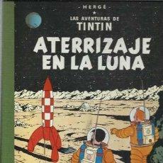 Cómics: LAS AVENTURAS DE TINTIN: ATERRIZAJE EN LA LUNA, 1989, JUVENTUD, IMPECABLE. Lote 164406410