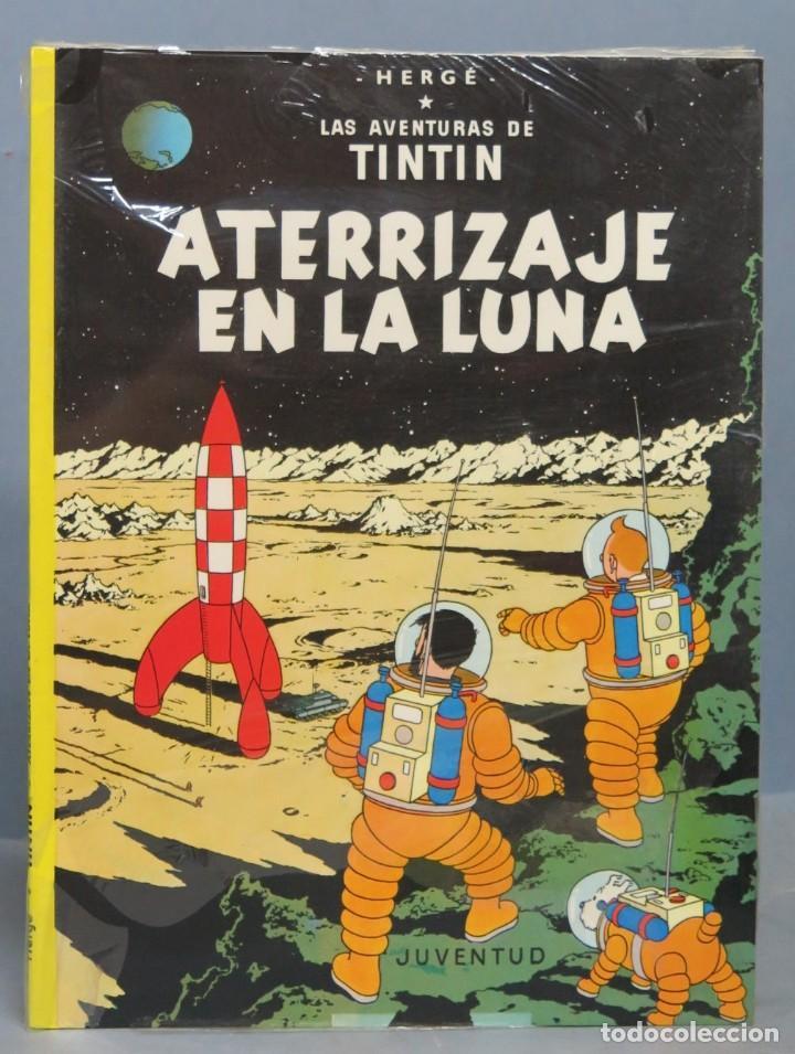 TINTIN ATERRIZAJE EN LA LUNA. HERGE. ED. JUVENTUD. 2003. PRECINTADO (Tebeos y Comics - Juventud - Tintín)