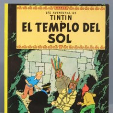 Cómics: TINTIN EL TEMPLO DEL SOL. HERGE. ED. JUVENTUD. Lote 165194642