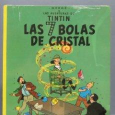 Cómics: TINTIN LAS 7 BOLAS DE CRISTAL. HERGE. ED. JUVENTUD. PRECINTADO. Lote 165194942