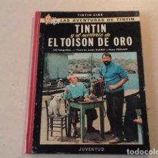 Cómics: TINTIN Y EL MISTERIO DE EL TOISON DE ORO - DEDICATORIA DE JEAN-PIERRE TALBOT (TINTIN EN LA PELÍCULA). Lote 165505850