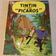Cómics: TINTIN Y LOS PICAROS DE HERGÉ 1ª EDICIÓN 1976. Lote 165606294
