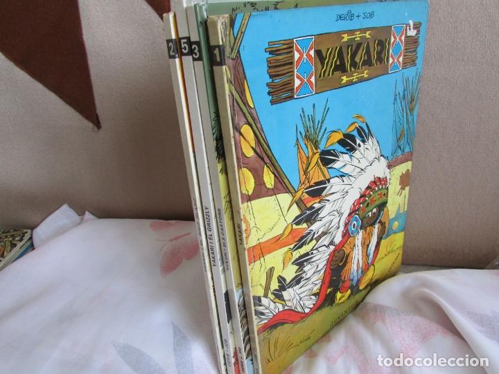 LOTE YAKARI- 1 - 2 - 3 - 5 PRIMERA EDICIO (Tebeos y Comics - Juventud - Yakary)