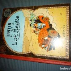 Cómics: TINTIN AL PAIS DE L'OR NEGRE. Lote 165779750