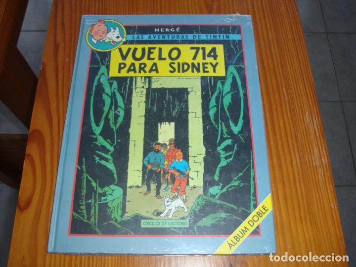 Cómics: Vuelo 714 para Sindney Album Doble - Foto 2 - 165869566