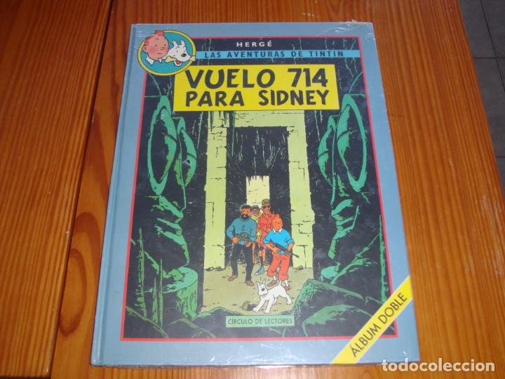 VUELO 714 PARA SINDNEY ALBUM DOBLE (Tebeos y Comics - Juventud - Tintín)