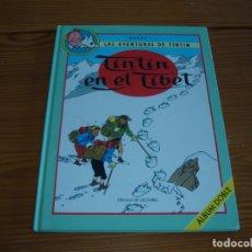 Cómics: TINTIN EN EL TIBET ALBUM DOBLE. Lote 165869814