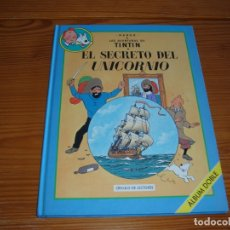 Cómics: EL SECRETO DEL UNICORNIO ALBUM DOBLE. Lote 165870062