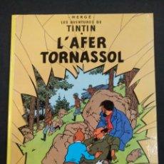 Cómics: TINTIN L'AFER TORNASSOL, JOVENTUT, EN CATALÁN. Lote 166109890
