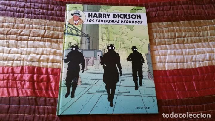 HARRY DICKSON LOS FANTASMAS VERDUGOS JUVENTUD PRIMERA EDICIÓN 1990 (Tebeos y Comics - Juventud - Otros)
