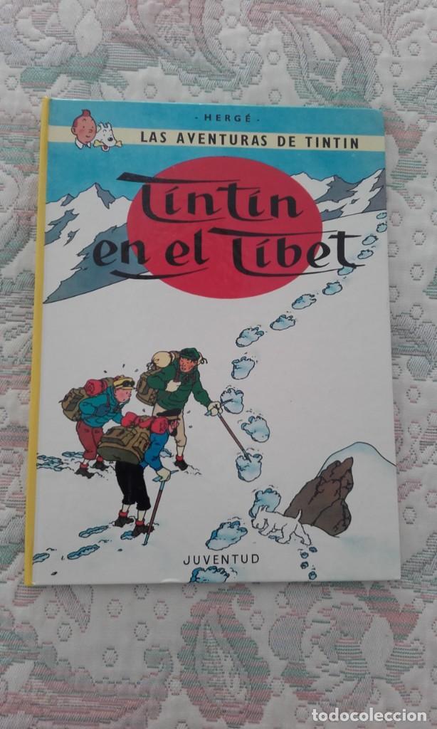 TINTIN EN EL TIBET, DE HERGE (CARTONE, TAPA DURA) (Tebeos y Comics - Juventud - Tintín)