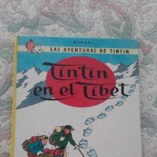 Cómics: TINTIN EN EL TIBET, DE HERGE (CARTONE, TAPA DURA). Lote 166664158