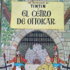Cómics: EL CETRO DE OTTOKAR. LAS AVENTURAS DE TINTÍN. HERGÉ. CUARTA EDICIÓN JUNIO 1968. EDITORIAL JUVENTUD.. Lote 166798869