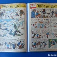 Cómics: TINTIN AU TIBET (TINTIN EN EL TIBET) JOURNAL TINTIN 1958/1959 - ANTERIOR 1 EDICIÓN. Lote 166941704