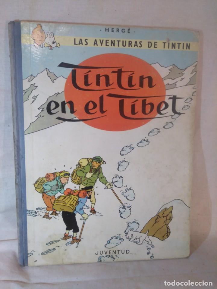 LAS AVENTURAS DE TINTÍN.TINTÍN EN EL TÍBET.TERCERA EDICIÓN,1967 (Tebeos y Comics - Juventud - Tintín)