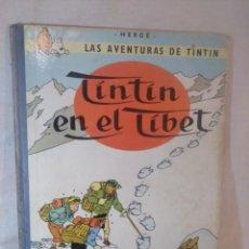 Cómics: LAS AVENTURAS DE TINTÍN.TINTÍN EN EL TÍBET.TERCERA EDICIÓN,1967. Lote 166967064