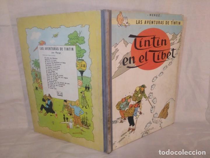 Cómics: LAS AVENTURAS DE TINTÍN.TINTÍN EN EL TÍBET.TERCERA EDICIÓN,1967 - Foto 2 - 166967064