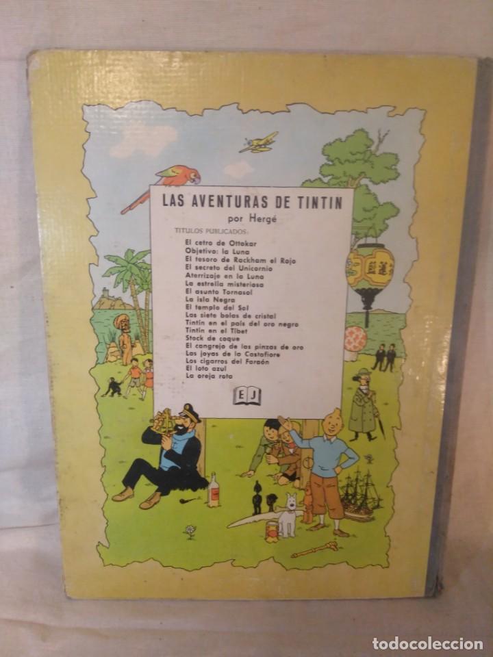 Cómics: LAS AVENTURAS DE TINTÍN.TINTÍN EN EL TÍBET.TERCERA EDICIÓN,1967 - Foto 3 - 166967064