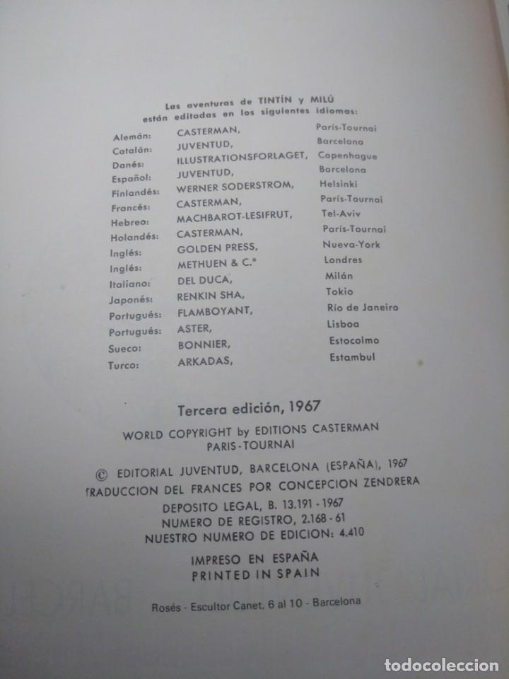 Cómics: LAS AVENTURAS DE TINTÍN.TINTÍN EN EL TÍBET.TERCERA EDICIÓN,1967 - Foto 7 - 166967064