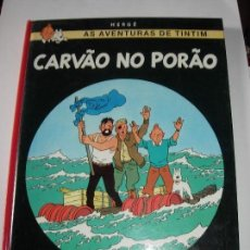 Comics: TINTIN IDIOMAS / TINTIN / CARVAO NO PORAO / PORTUGUES. Lote 166984484