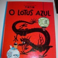 Comics: TINTIN IDIOMAS / TINTIN / O LOTUS AZUL / PORTUGUES. Lote 166986036