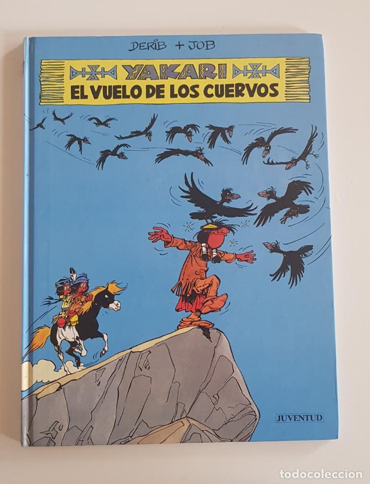 EDITORIAL JUVENTUD - YAKARI EL VUELO DE LOS CUERVOS (Nº 14) TAPA DURA 1992 (Tebeos y Comics - Juventud - Yakary)