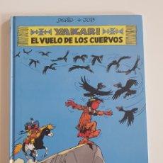 Cómics: EDITORIAL JUVENTUD - YAKARI EL VUELO DE LOS CUERVOS (Nº 14) TAPA DURA 1992. Lote 167615916