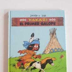 Cómics: EDITORIAL JUVENTUD - YAKARI EL PRIMER GALOPE (Nº 16) TAPA DURA 1993. Lote 167616148