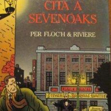Cómics: FLOCH--RIVIERE-CITA A SEVENNOAKS. Lote 167744840