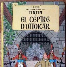 Cómics: TINTÍN - EL CEPTRE D'OTTOKAR EDICIÓN 1981 ED. JOVENTUT. Lote 167824608