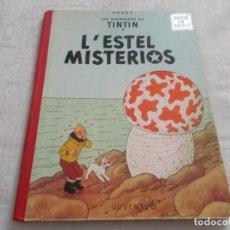 Cómics: TINTIN L'ESTEL MISTERIOS 1ª EDICIÓN. Lote 168004444