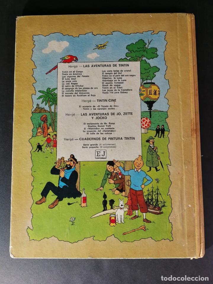 Cómics: TINTIN Hergé Las Aventuras de Jo Zette y Jocko El Manitoba No Contesta Juventud primera edición 1971 - Foto 6 - 168250449
