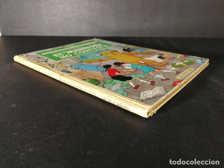 Cómics: TINTIN Hergé Las Aventuras de Jo Zette y Jocko El Manitoba No Contesta Juventud primera edición 1971 - Foto 7 - 168250449