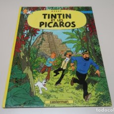 Cómics: LES AVENTURES DE TINTIN. TINTIN ET LES PICAROS. 1976 CASTERMAN. Lote 168261648